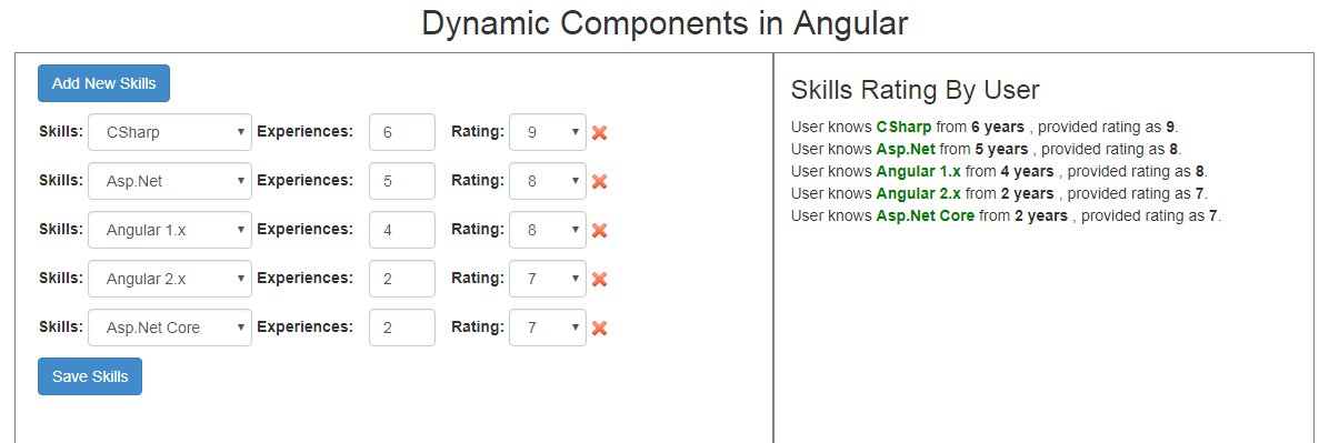 Dynamic Component In Angular