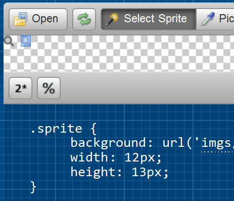 Starting for using CSS sprites on your projects - CodeProject