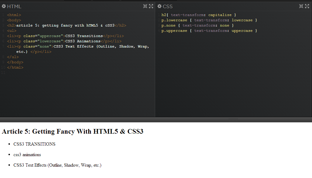 Beginner's Guide to HTML5 & CSS3 - Getting Fancy with HTML5