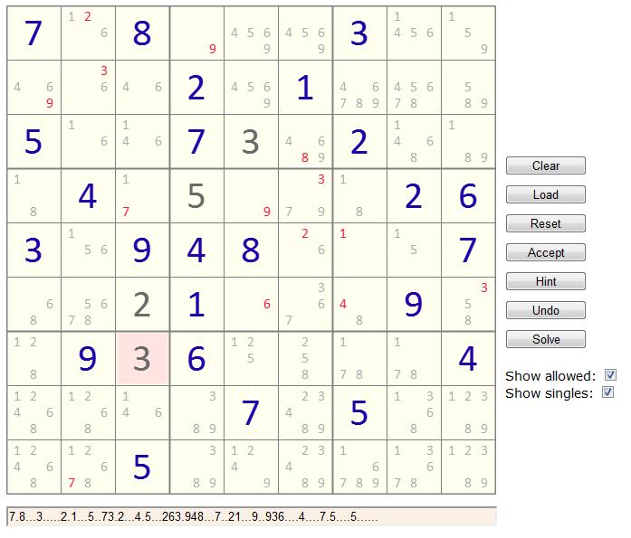 HTML5 Sudoku Solver - CodeProject