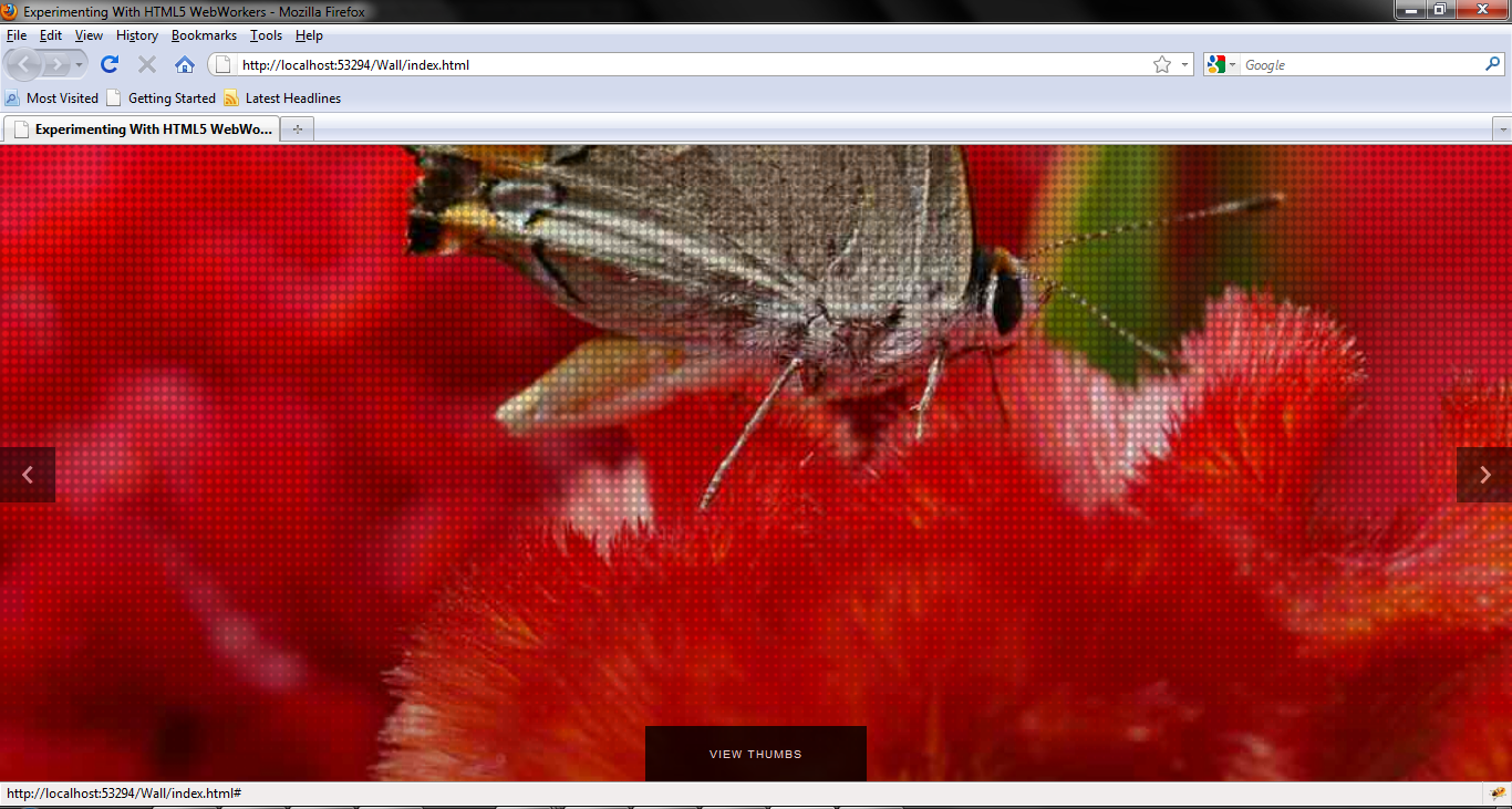 HTML5 WebWorkers Experiment - CodeProject