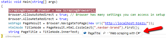 Webscraping with C# - CodeProject