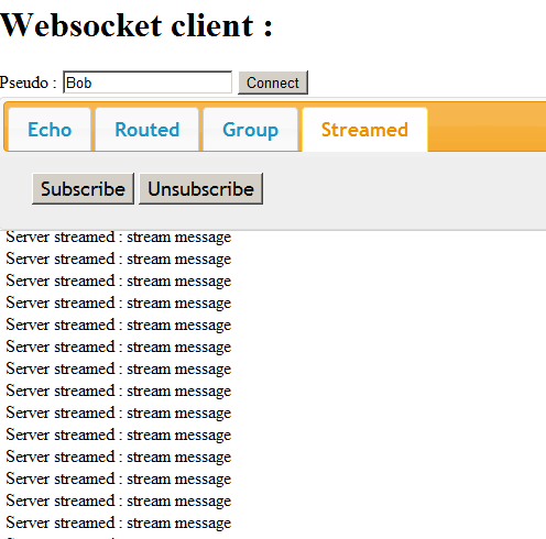 A C++ Websocket server for realtime interaction with Web