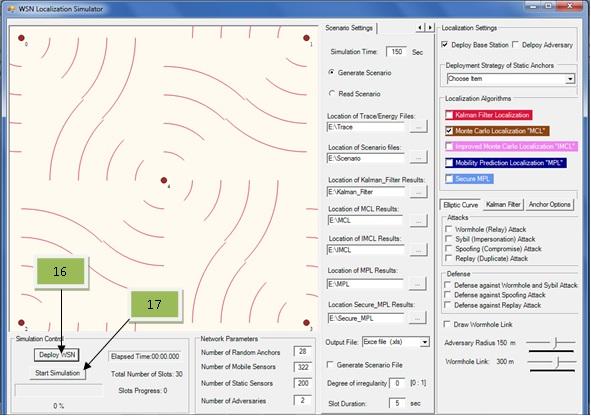 Wireless Sensor Network Localization Simulator v2 1 - CodeProject