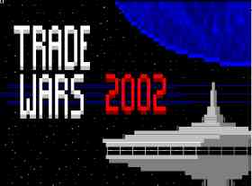 TradeWars ANSI title screen