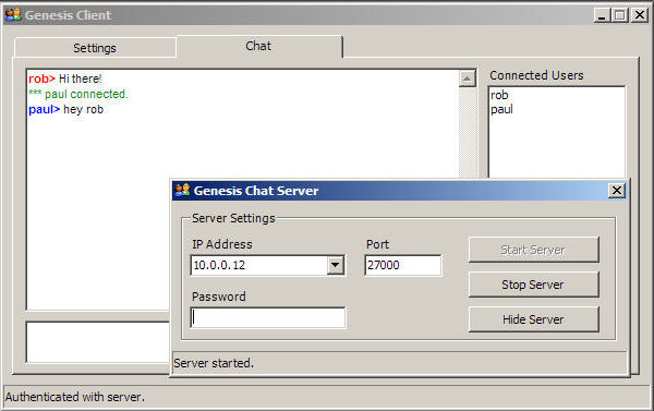 Genesis UDP Server and Client - CodeProject