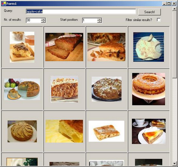 An API for Google Image Search - CodeProject