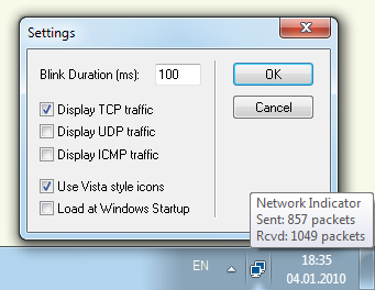 Network Activity Indicator