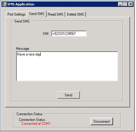 Send and Read SMS through a GSM Modem using AT Commands - CodeProject