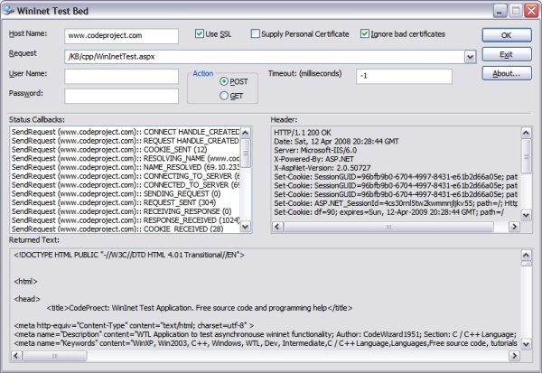 WinINet Test Application - CodeProject