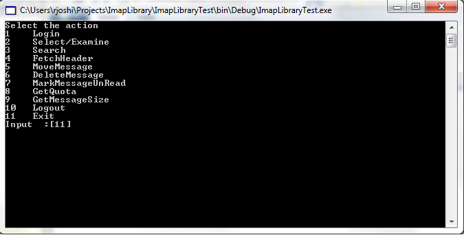 IMAP Client library using C# - CodeProject