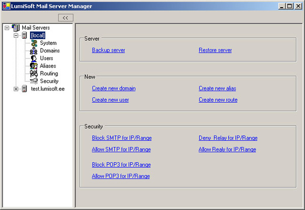 SMTP and POP3 Mail Server - CodeProject