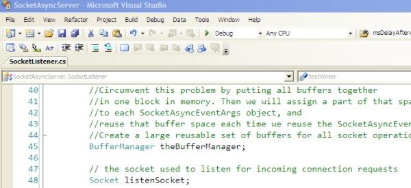 C# SocketAsyncEventArgs High Performance Socket Code