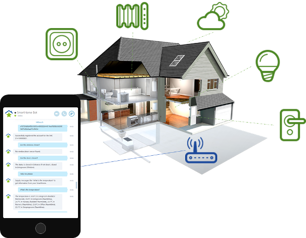 smart home chat bot