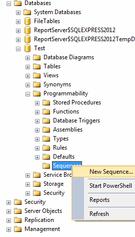 New Features for Database Developers in SQL Server 2012