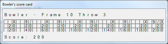 Bowling Calculator - CodeProject