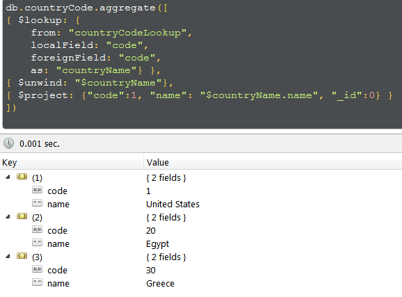 Working with MongoDB's $lookup Aggregator - CodeProject