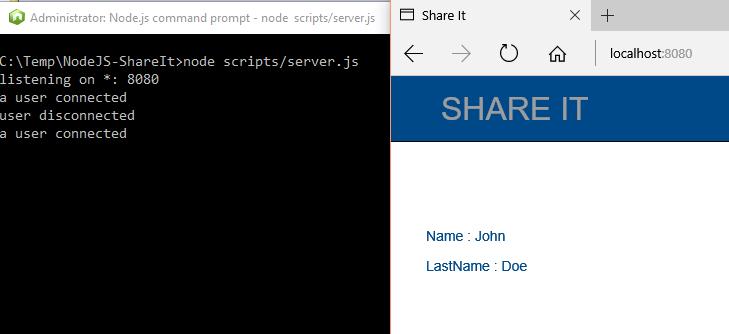 Node js Application written in Typescript with MongoDB