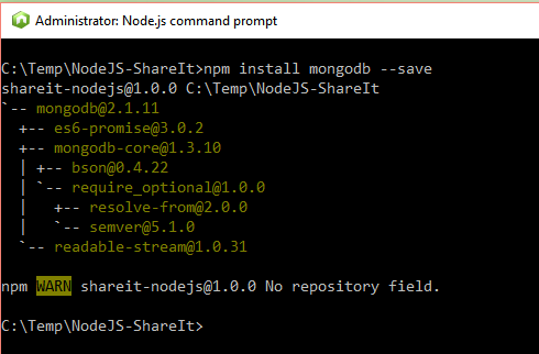 Node js Application written in Typescript with MongoDB, Express and