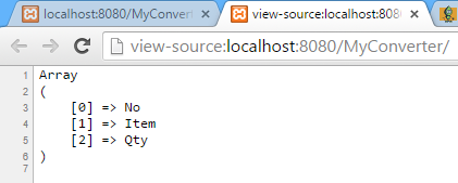 Simple Way to Convert HTML Table Data into PHP Array - CodeProject