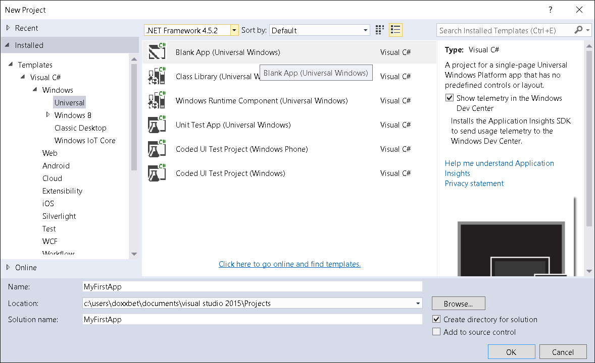 Building Your First App for Windows 10 IoT using C# - CodeProject