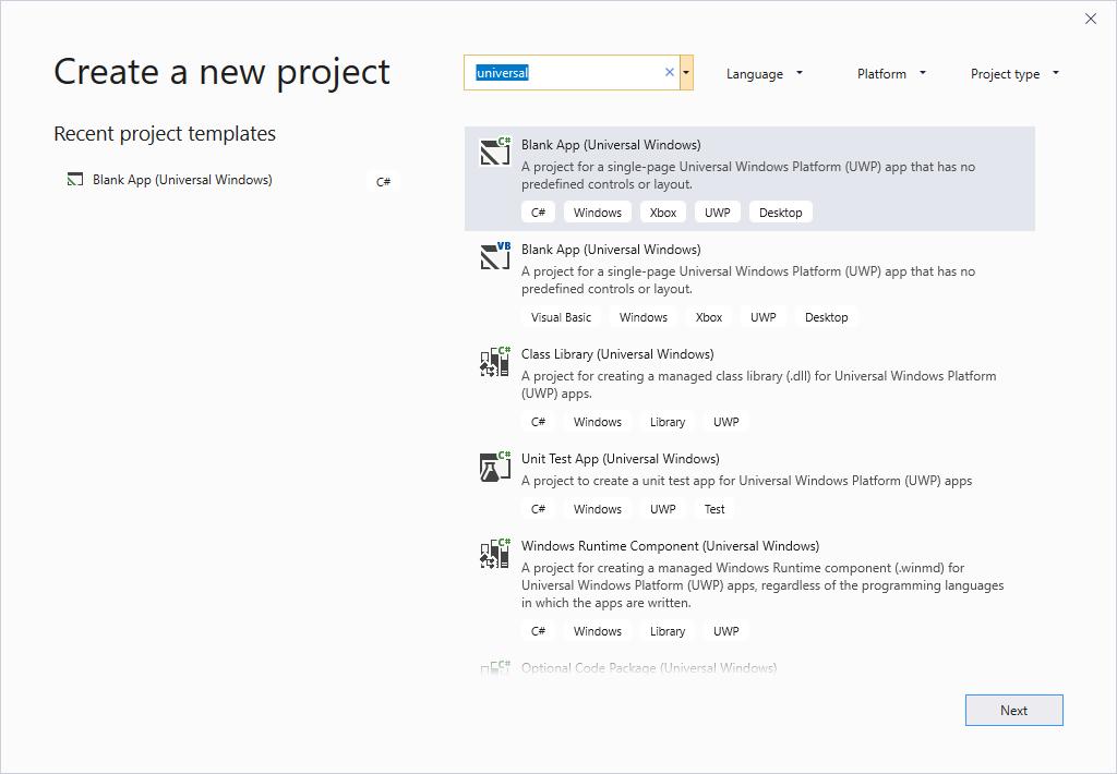 App Development on Windows IoT using VS 2019 - CodeProject