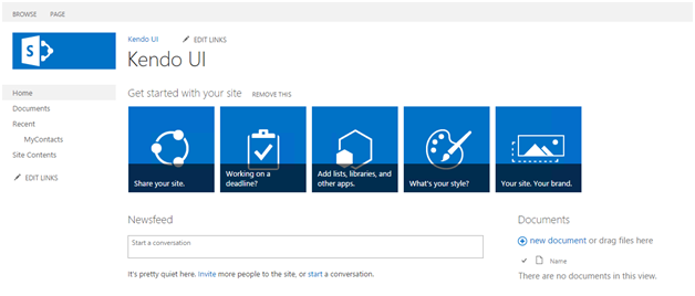 Creating User Interface in SharePoint Online with Kendo UI - CodeProject