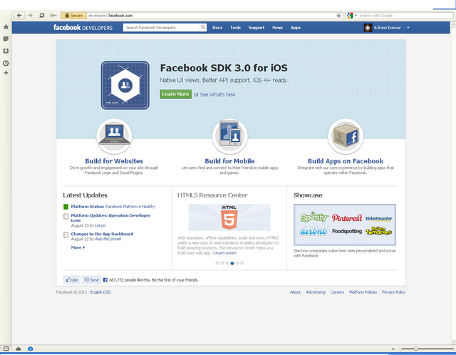 Using facebook login in asp application without any third step 1 register site in facebook stopboris Gallery