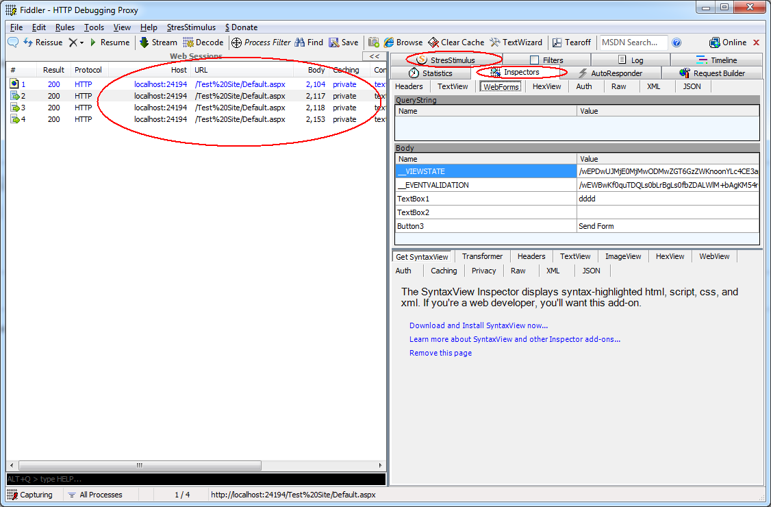 Load testing web sites with StresStimulus: Part 1 - Getting