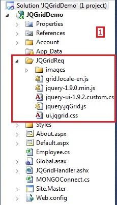 Using JqGrid in ASP NET - CodeProject