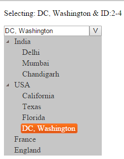 Treeview Dropdown With Search - CodeProject