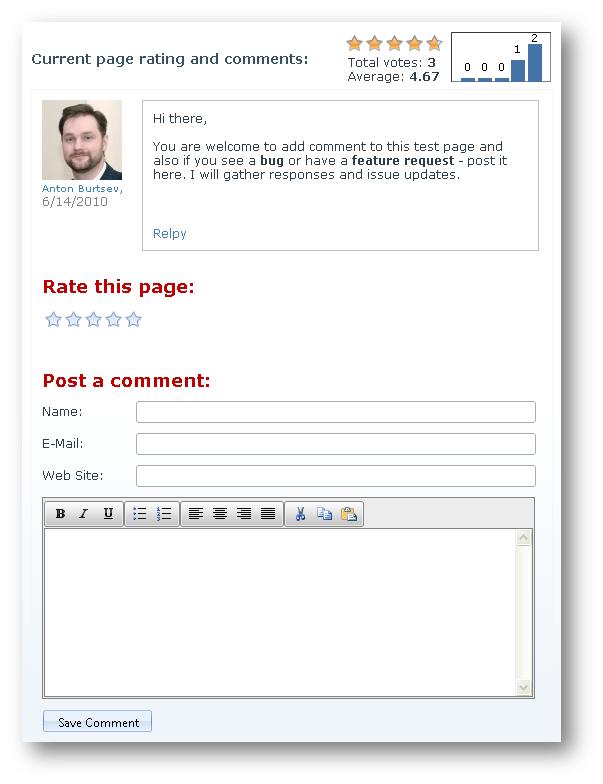 Using Telerik RadControls With DotNetNuke. Complete Rating And ...