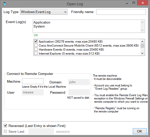 Log Wizard - Viewing Windows Event Logs Can Be Fun! - CodeProject