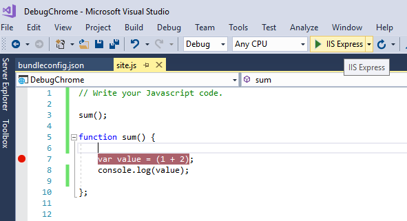 Debugging with Chrome in Visual Studio 2017 - CodeProject