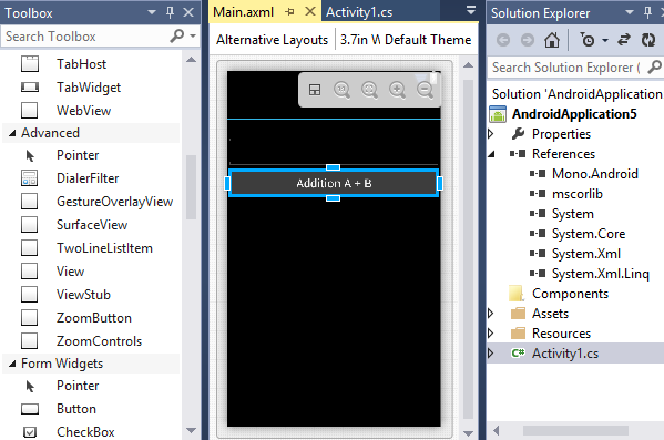 Android on Visual Studio - CodeProject