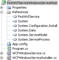 FirstWcfServiceWindowsServiceHost.PNG