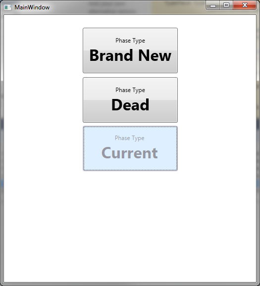 WPF Popup Enumerated Button Control