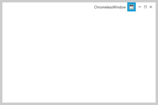 A Simple Way to Make a WPF Chromeless Window - CodeProject