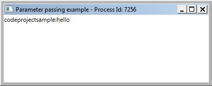 Passing Parameters to a Running Application in WPF - CodeProject