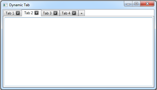 Add/Remove Tabs Dynamically in WPF - CodeProject