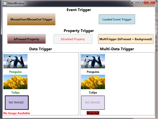 Triggers in WPF - CodeProject