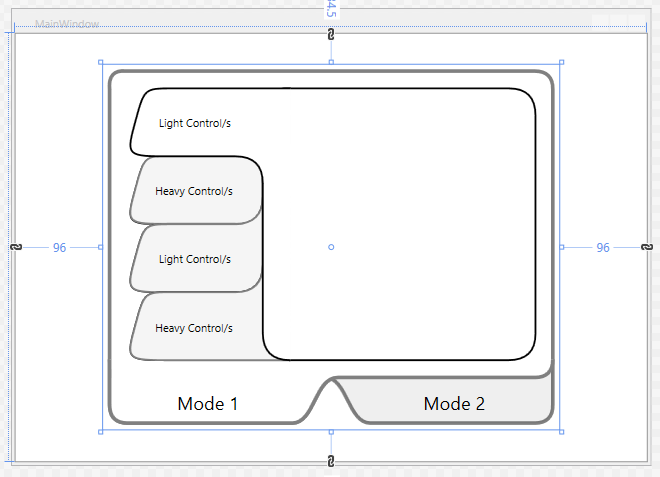 wpf tabcontrol template - wpf graphic based tabcontrol and mode toggling codeproject