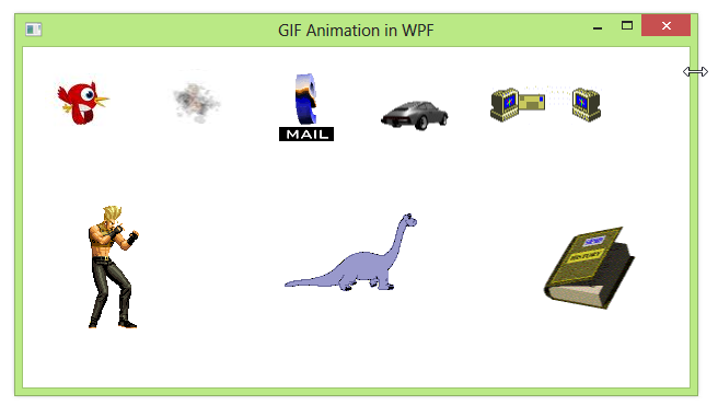 Gif animation in wpf codeproject negle Image collections
