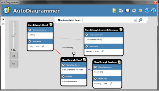 Drawing Lines In Wpf : Reflective class diagram creation tool codeproject