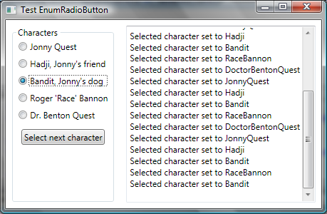 WPF radio buttons and enumeration values - CodeProject