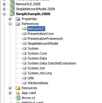NetworkView: A WPF custom control for visualizing and editing
