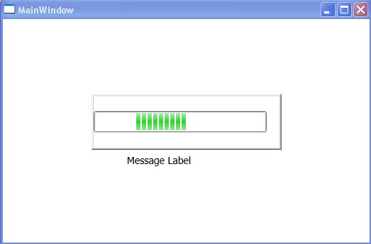 Progress bar not updating wpf