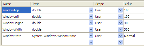Save and Restore WPF Window Size, Position, and/or State - CodeProject