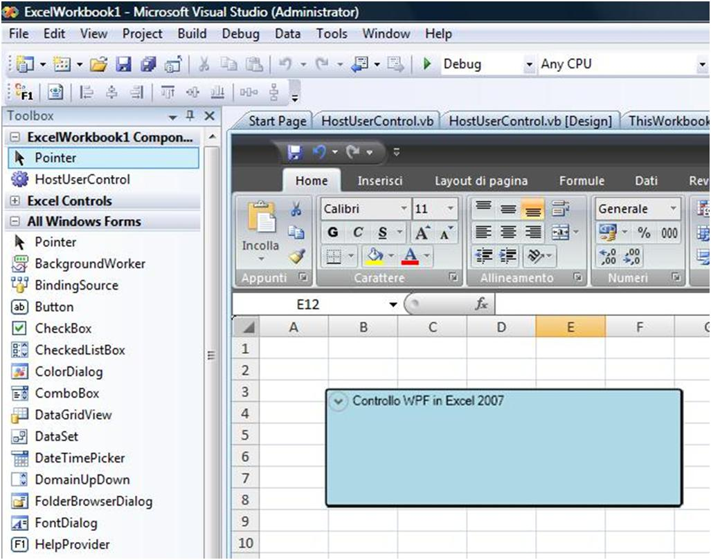 Use wpf controls in vsto solutions with visual basic 2008 codeproject - Visual studio tools for office ...