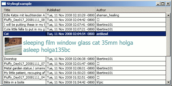 Wpf datagrid details row example.